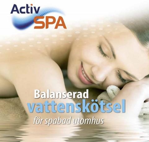 Activ Spa Broschyr, kemikalier till spabad, kemikalier till pool, spakem, spa kem